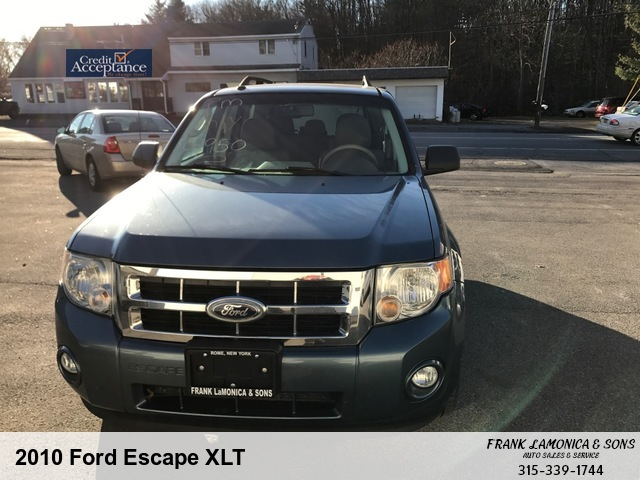 2010 Ford Escape Xlt Frank Lamonica And Son S 8218 Turin Road Rome Ny 13440